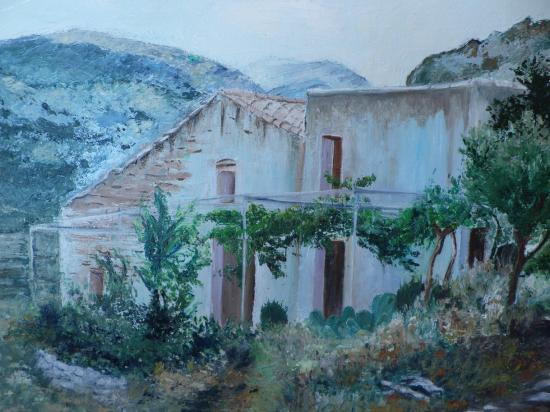 La maison du grand père à Torreblanca